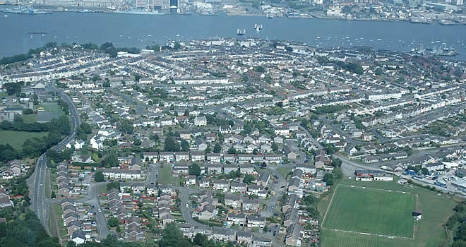 Aerial View of Torpoint